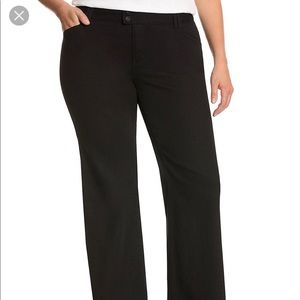 Lane Bryant Blue Denim Trousers